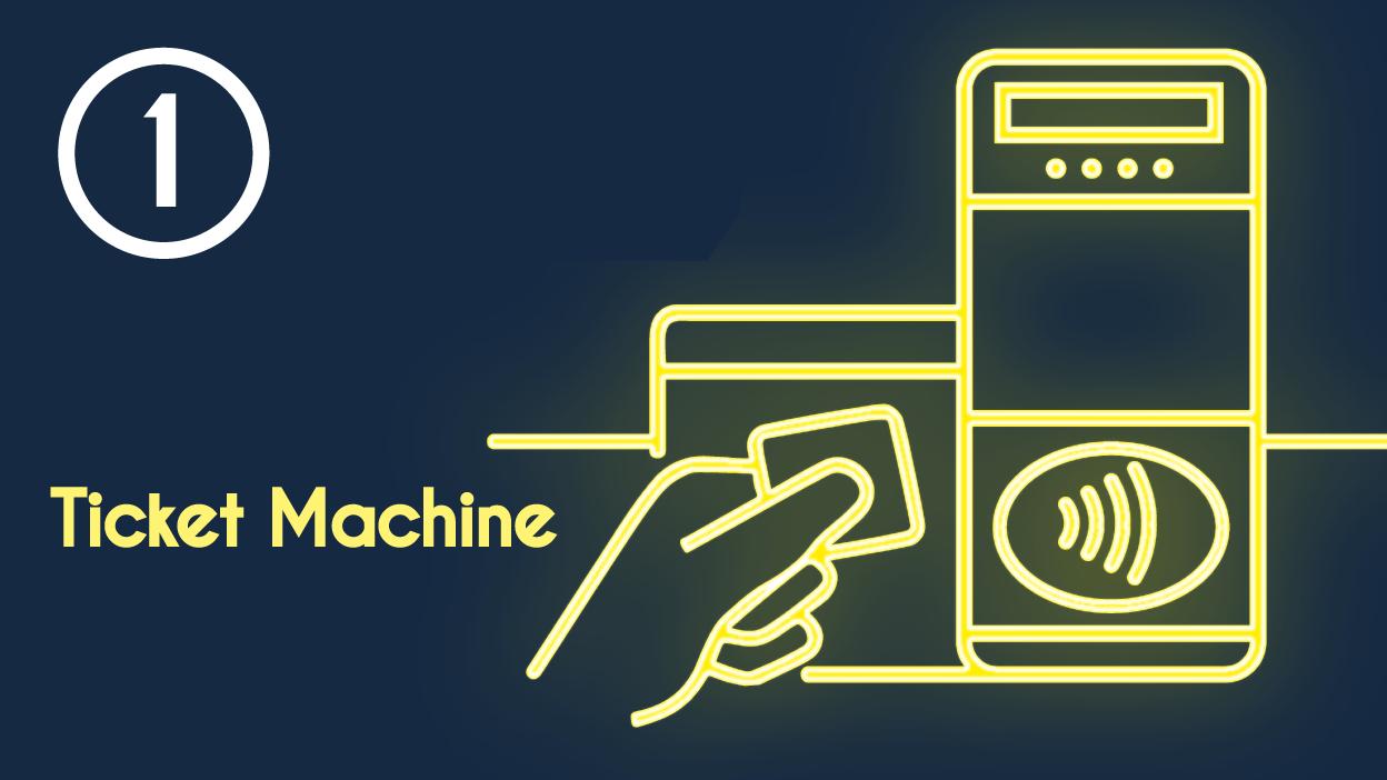 1 - Ticket machine