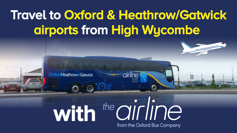 Travel to Oxford & Heathrow/Gatwick airports from High Wycombe