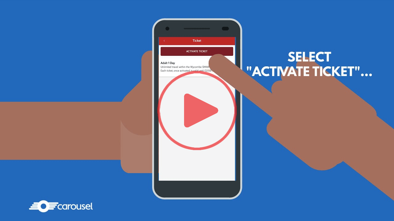 Watch How to activate a ticket video